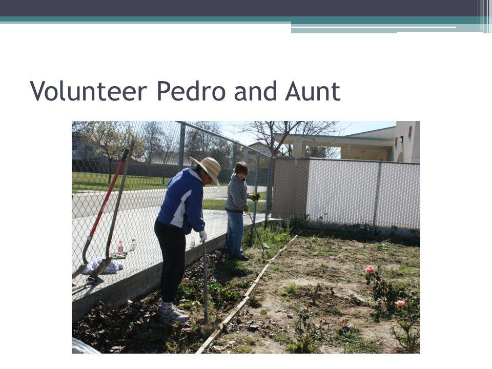 Volunteer Pedro and Aunt