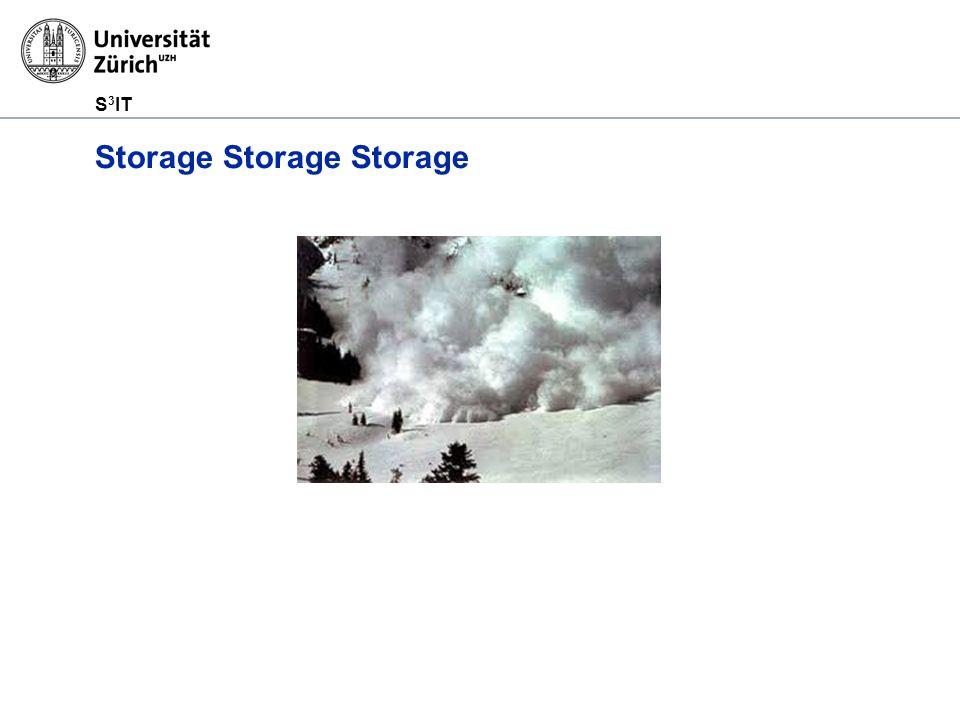 S 3 IT Storage Storage Storage