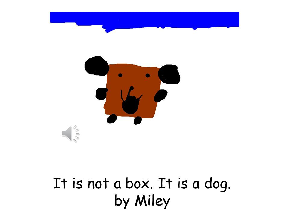 It is not a box. It is a minecraft. By Miles
