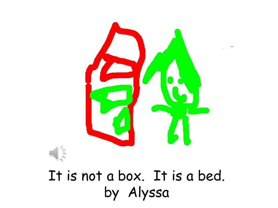 It is not a box. It is a bird. By Aidan