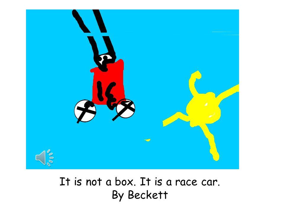 It is not a box. It is a rocket ship. by Audrey