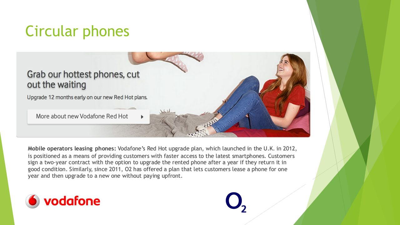Circular phones
