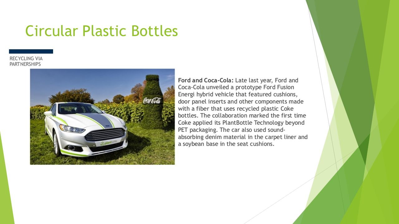 Circular Plastic Bottles