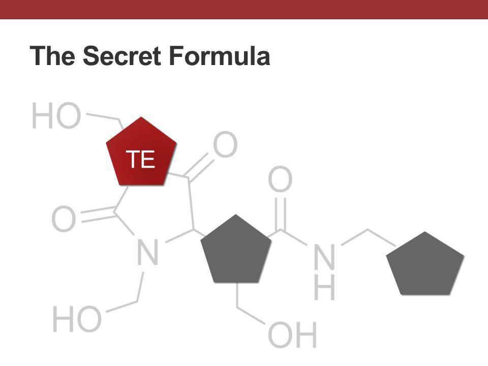 The Secret Formula TE