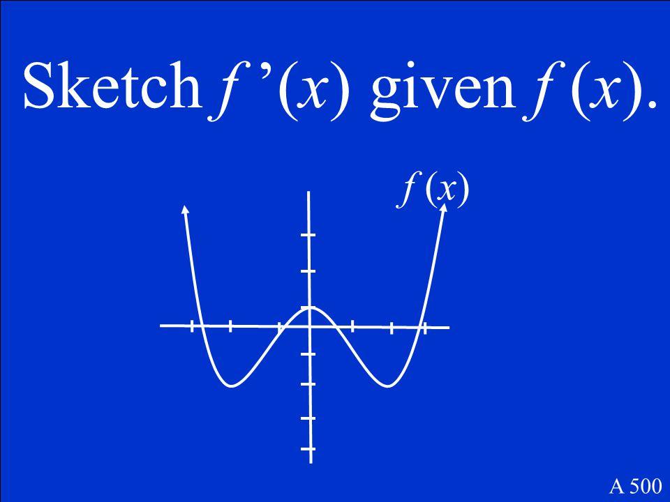 y – 1 = 5(x – 2) A 400