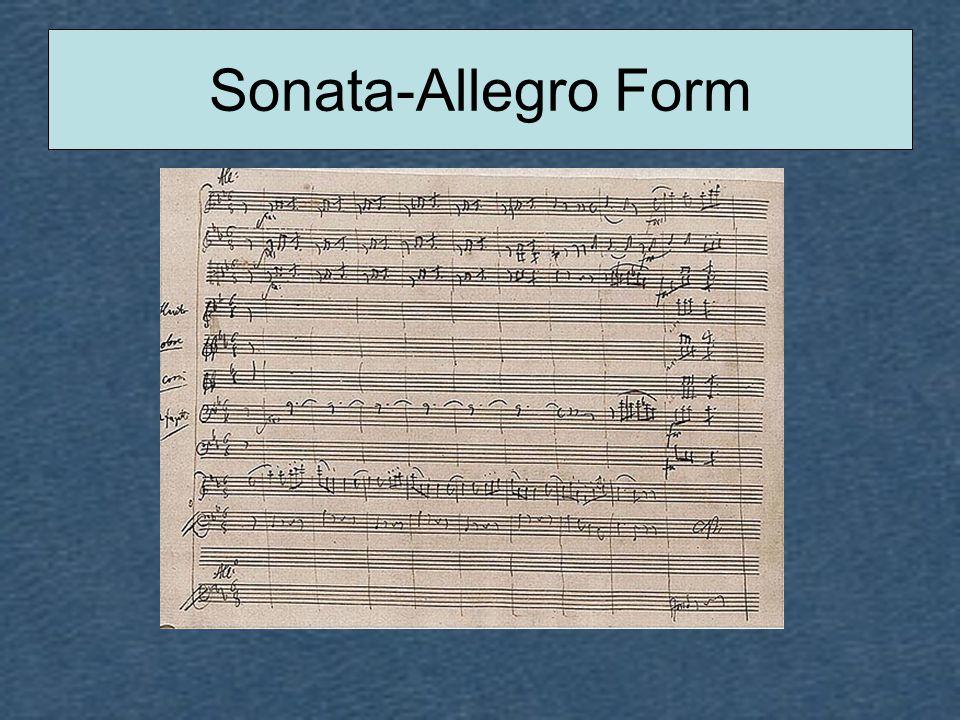 Sonata-Allegro Form