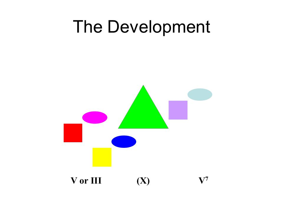 The Development V or III(X)V 7