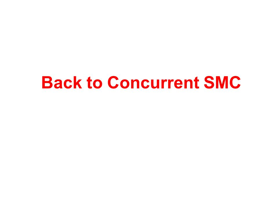 Back to Concurrent SMC