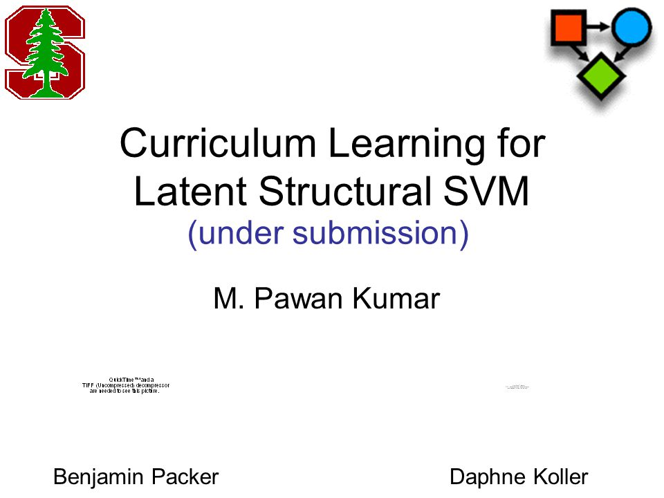 Outline Latent Structural SVM Concave-Convex Procedure Curriculum Learning Experiments