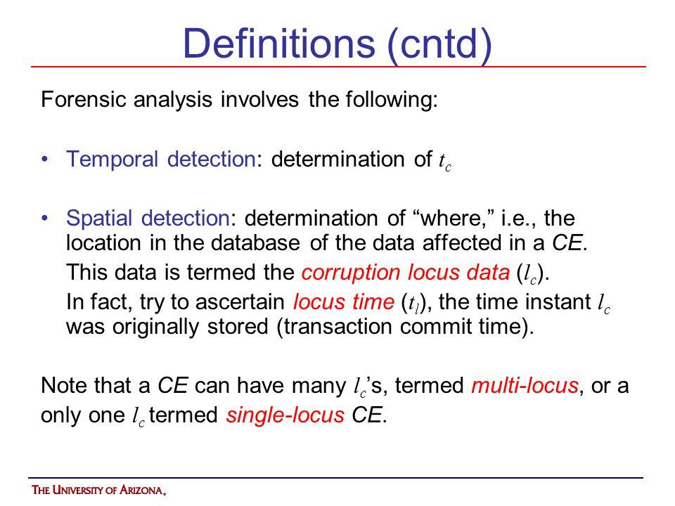The Corruption Diagram NE 0 NE 2 NE 1 NE 3 VE 1 When Where link NE: Notarization Event = TRUE VE: Validation Event