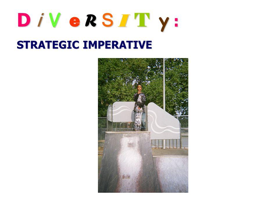 D i V e R S I T y : STRATEGIC IMPERATIVE