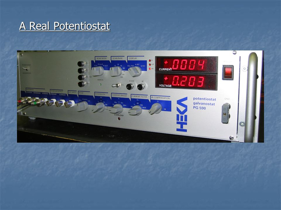 A Real Potentiostat