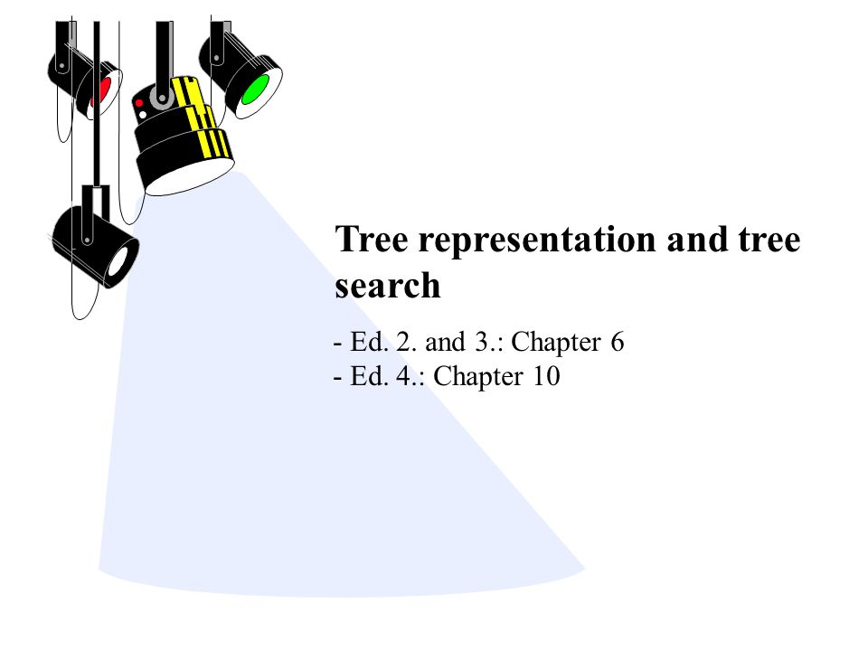 Data Structures for Representing Trees