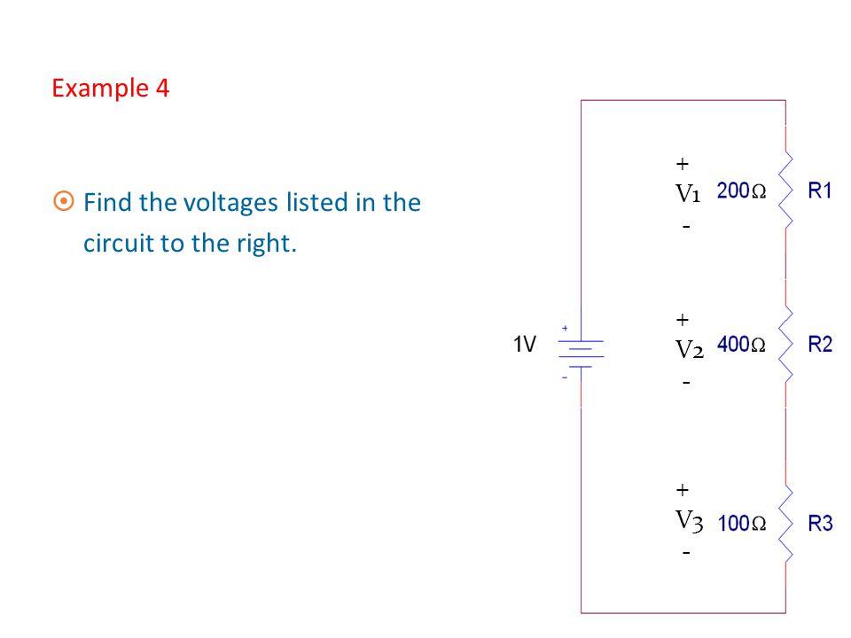 10 Example 3 ¤Voltage across R1 is: ¤Voltage across R2 is: ¤Check: V1 + V2 should equal V in + V1 - + V2 _ 8.57 sin(377t)V + 11.4 sin(377t) = 20 sin(3