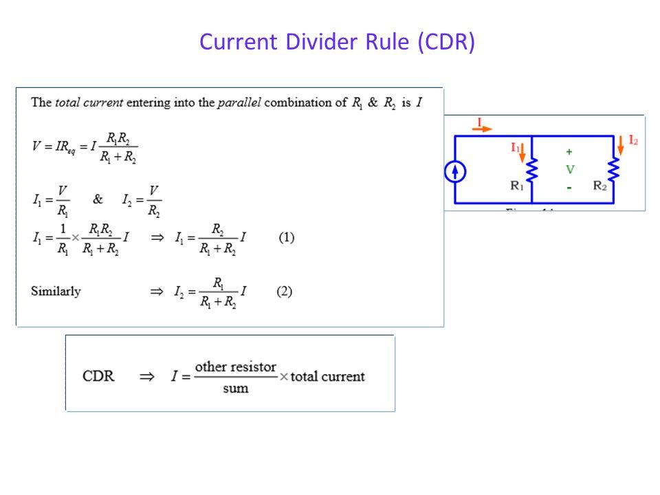 12 Example 5 Check: V1 + V2 + V3 = 1V + V1 - + V2 - + V3 -