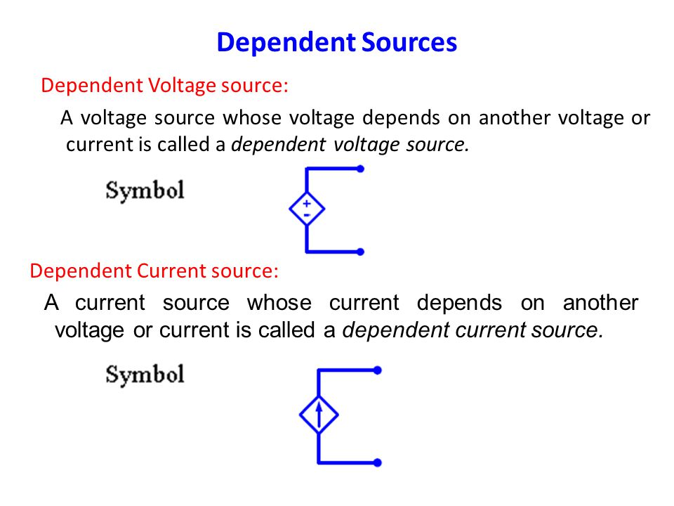 Example 4: In the following circuit, calculate the voltage V across the 20 Ω resistance. Ideal Current Source