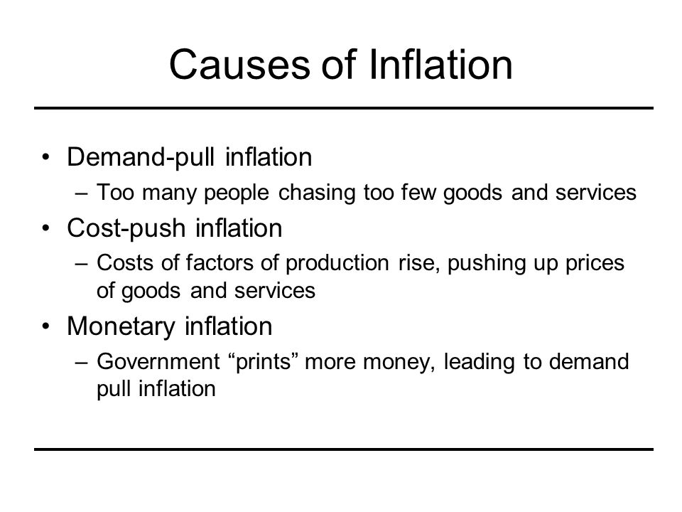 Terminology Price with inflation included –Nominal –Current dollar –Inflated –Actual Price with inflation not included –Real –Constant dollar –Deflated –Relative