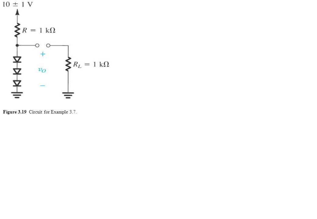 Figure 3.19 Circuit for Example 3.7.