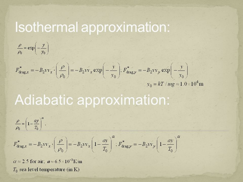 Adiabatic approximation: