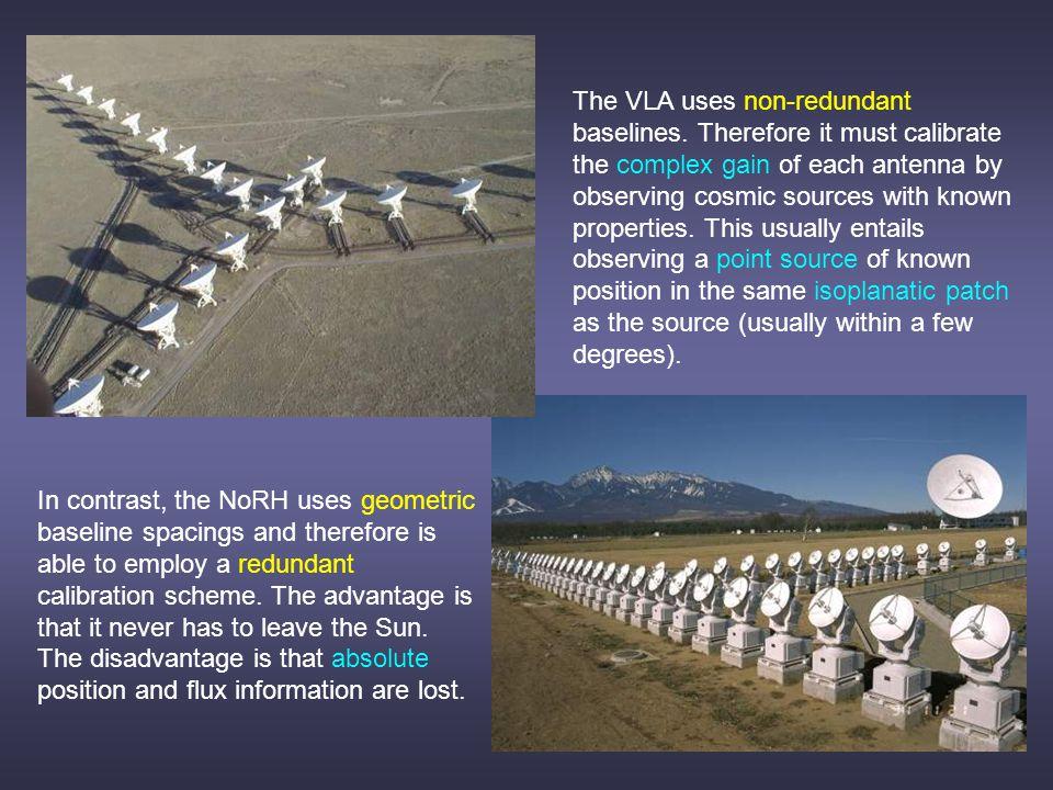 The VLA uses non-redundant baselines.