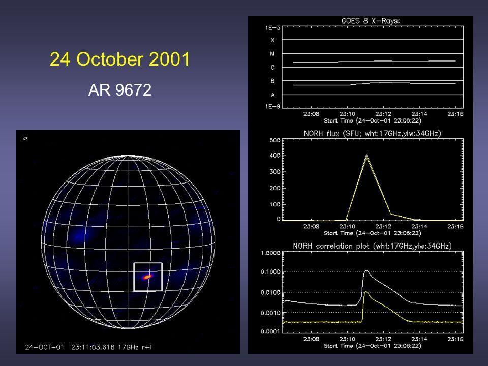 24 October 2001 AR 9672