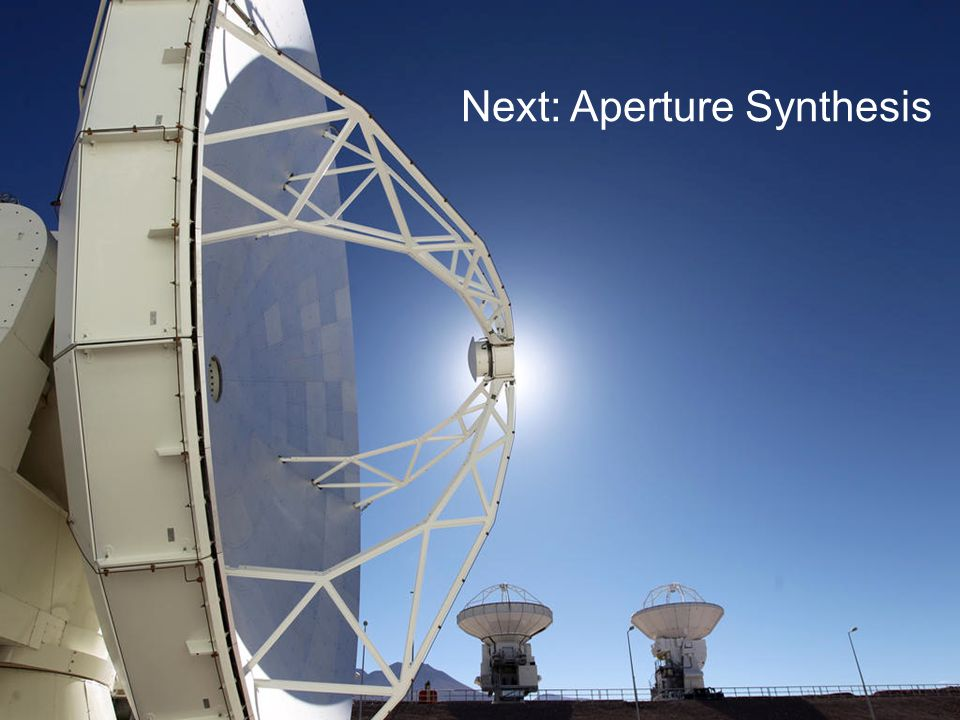 Next: Aperture Synthesis