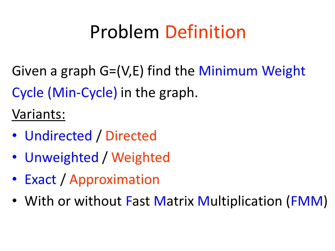 Summary We have settled many variants of a fundamental open problem in algorithmic graph theory.