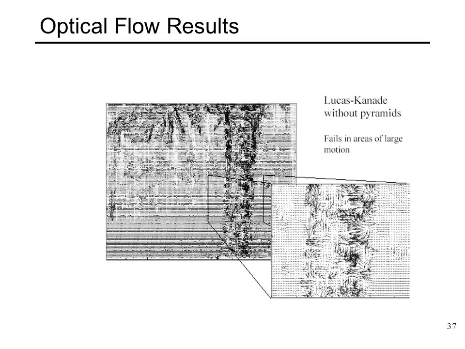37 Optical Flow Results