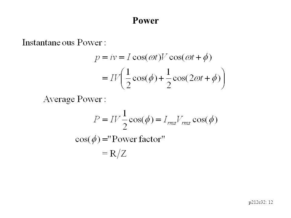 p212c32: 12 Power
