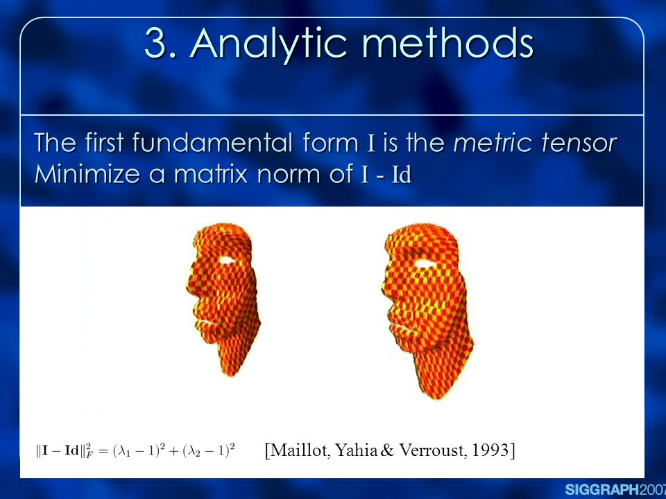 3. Analytic methods 3.