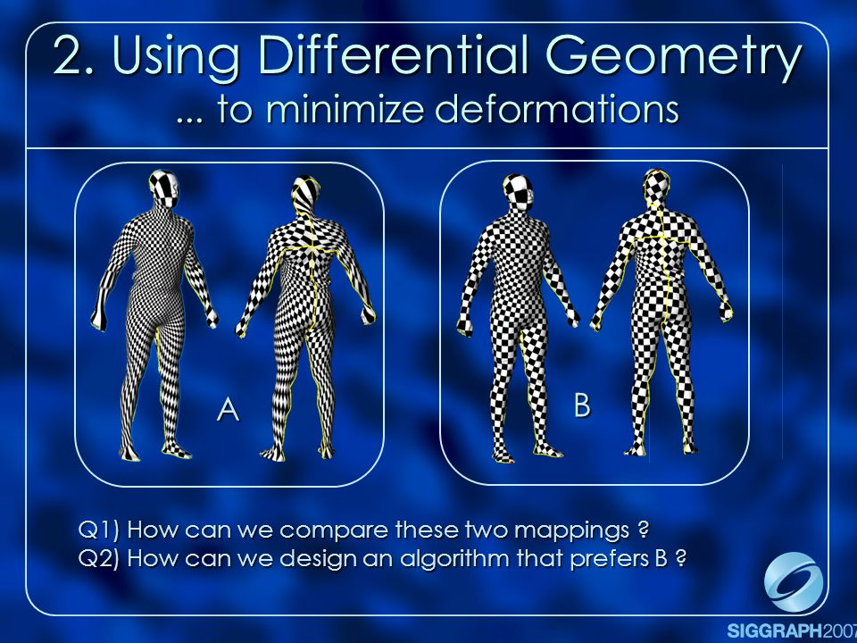 2. Using Differential Geometry...