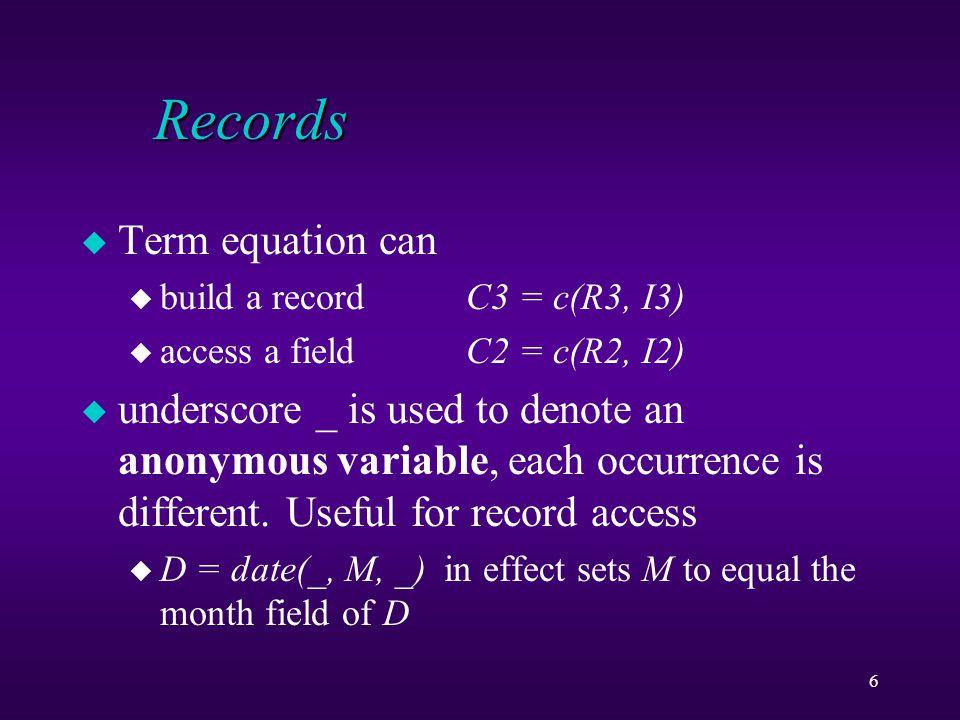 27 Binary Search Tree find(node(_,I,_),E) :- E = I.