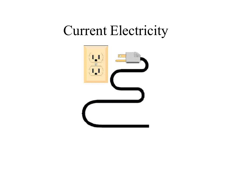 Current Electricty Unlike Static electricity which does not flow, Current electricity flows through a circuit.
