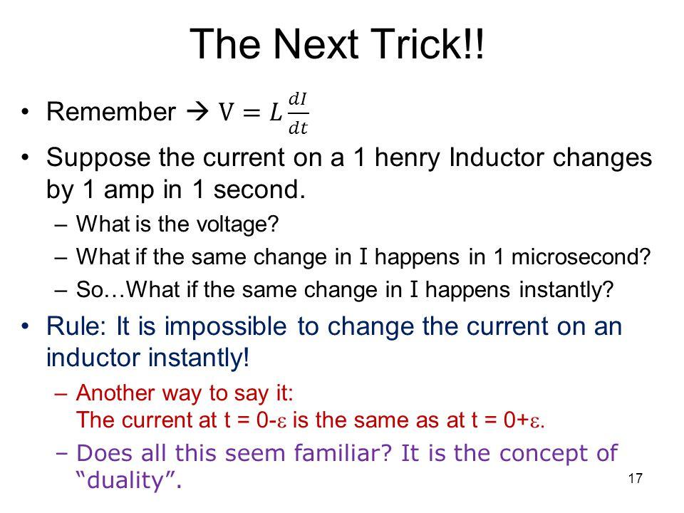 The Next Trick!! 17