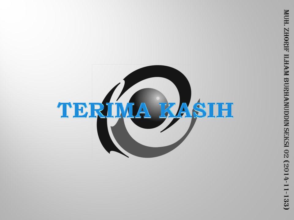 Muh. Zhorif Ilham Burhanuddin Seksi 02 (2014-11-133)