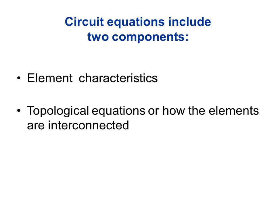 Multiterminal Nonlinear q v