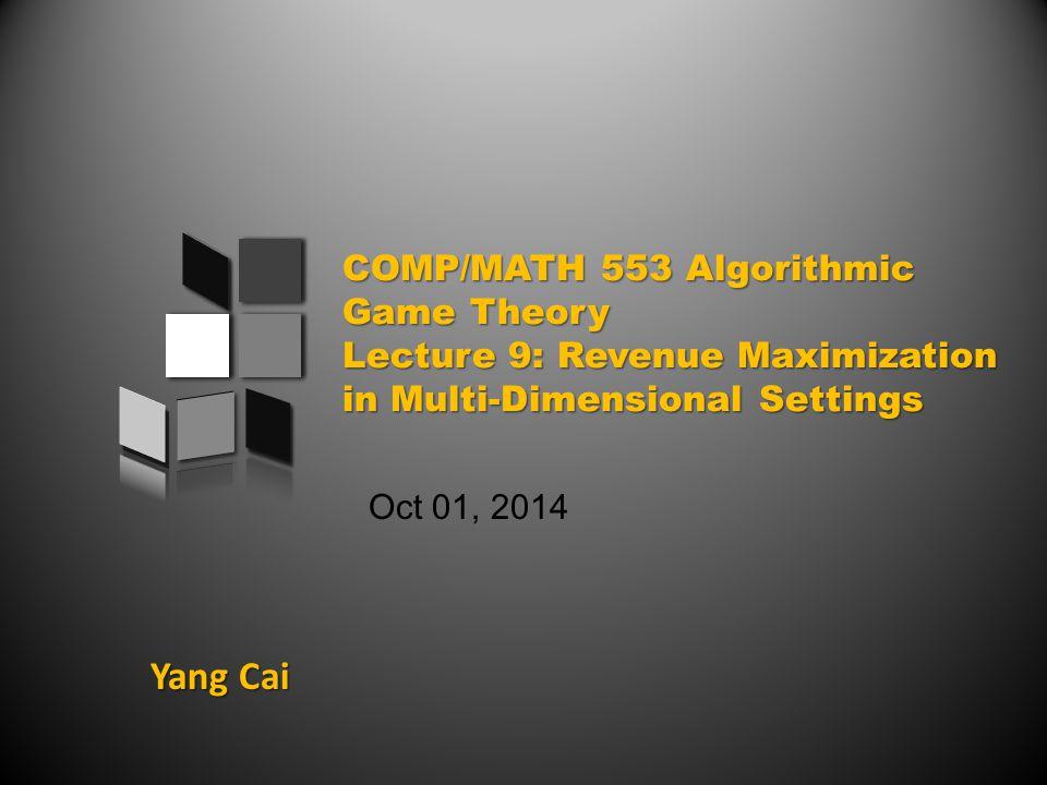 Yang Cai Oct 01, 2014