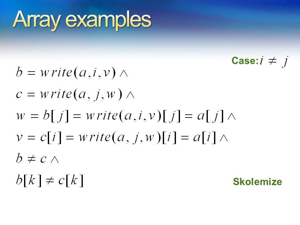 Case: Skolemize