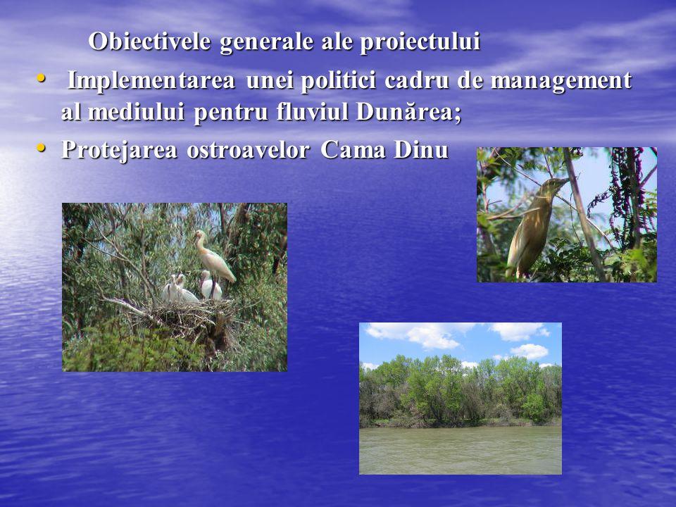 Obiectivele generale ale proiectului Obiectivele generale ale proiectului Implementarea unei politici cadru de management al mediului pentru fluviul D