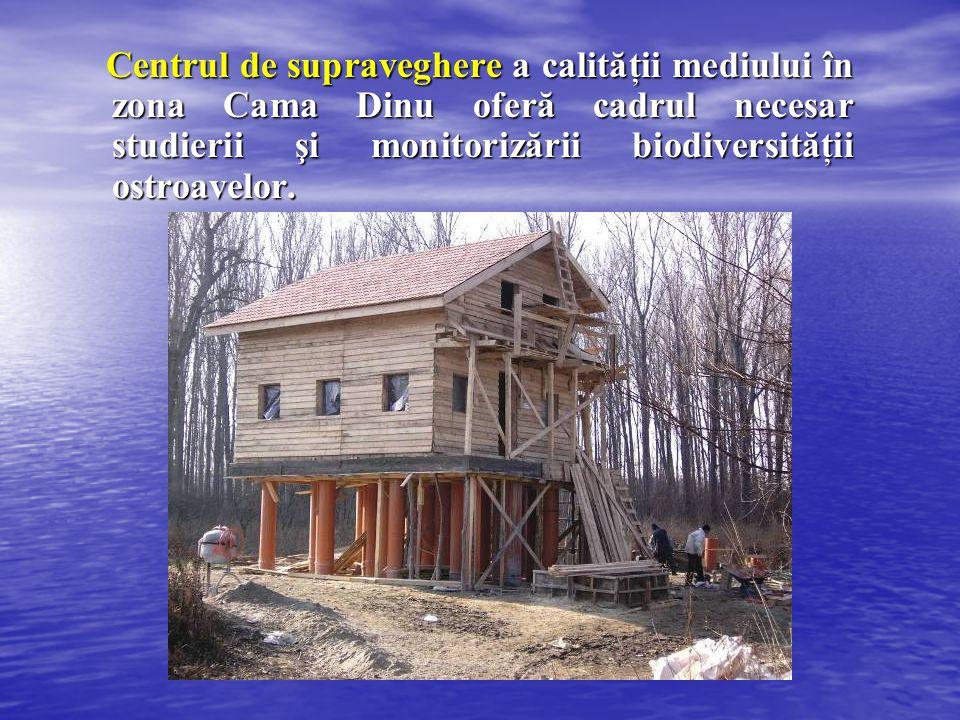 Centrul de supraveghere a calităţii mediului în zona Cama Dinu oferă cadrul necesar studierii şi monitorizării biodiversităţii ostroavelor. Centrul de