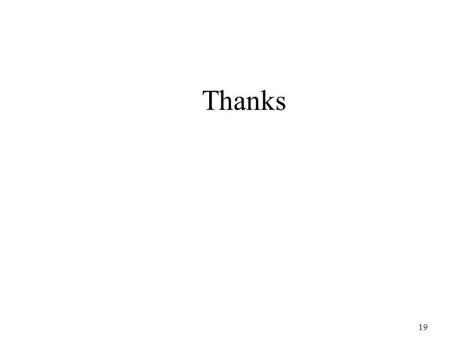 19 Thanks