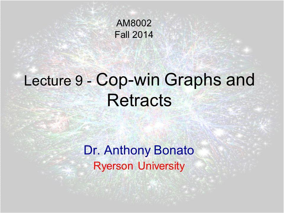 A dismantlable graph 12