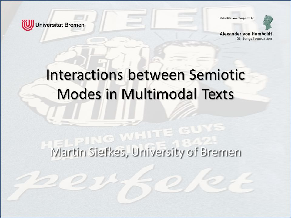 Overview 1.Why investigate intermodal interactions.