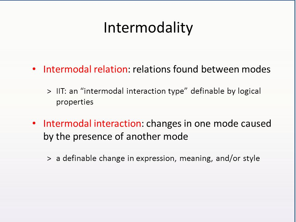 Example: Intermodal deixis Example from Gattaca (1997, A.