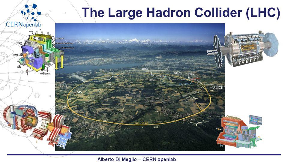 The Large Hadron Collider (LHC) Alberto Di Meglio – CERN openlab