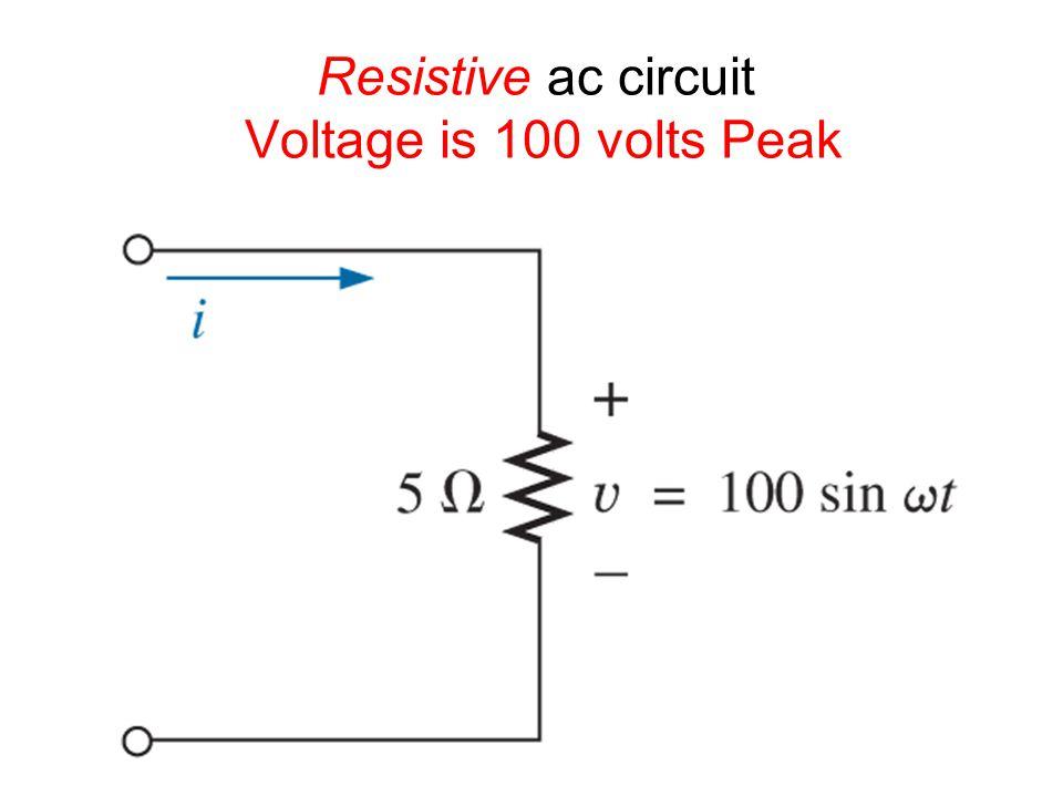 The RC lag network (V out = V C )
