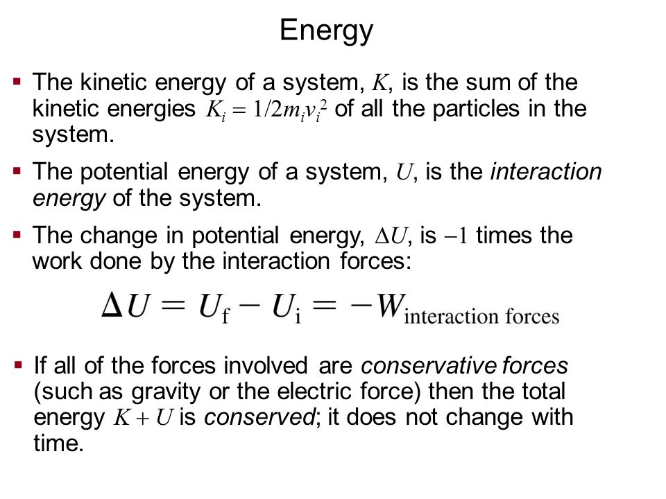  Two like charges approach each other. Their total energy is E mech  0.