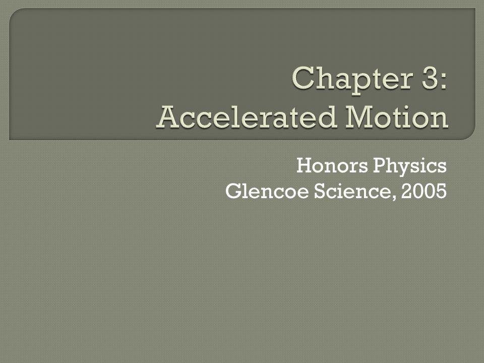 Honors Physics Glencoe Science, 2005