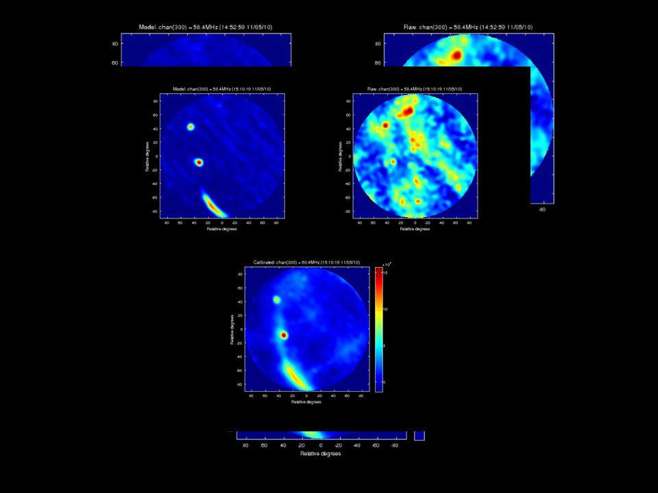 14 58.4 MHz – 500 sources model sky