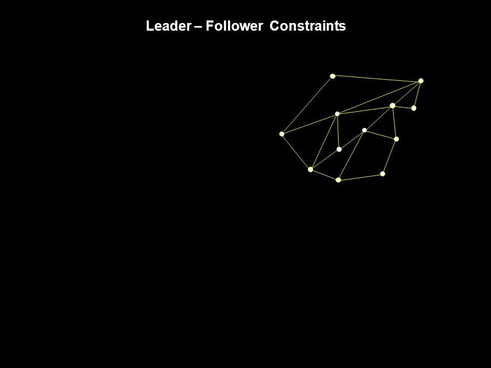 Leader – Follower Constraints
